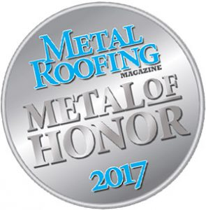 metal roofing magazine 2017 metal of honor