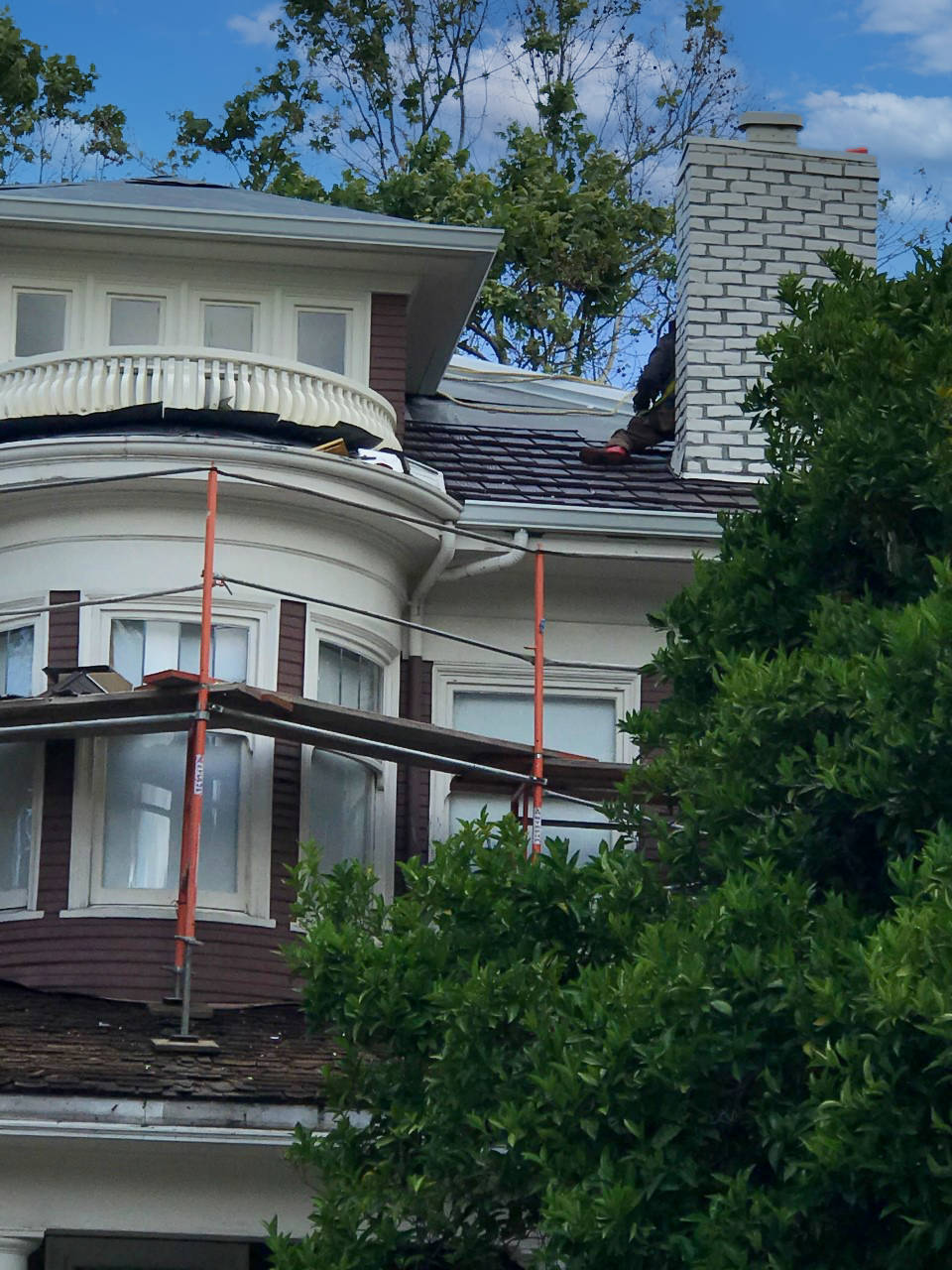 Allied Construction reroofing